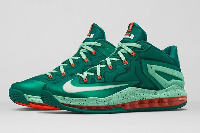 Lebron 11 Low Mystic Green 5
