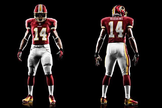 Washington Redskins Uniform 1