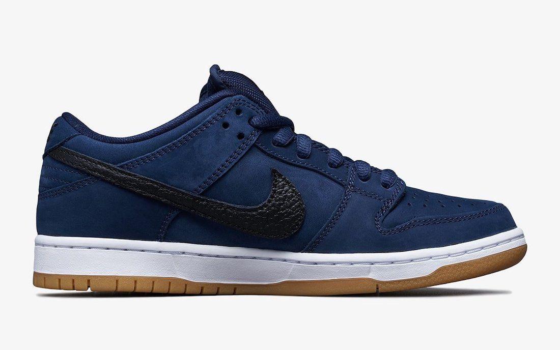 Nike SB Dunk Low Pro ISO 'Navy Gum'