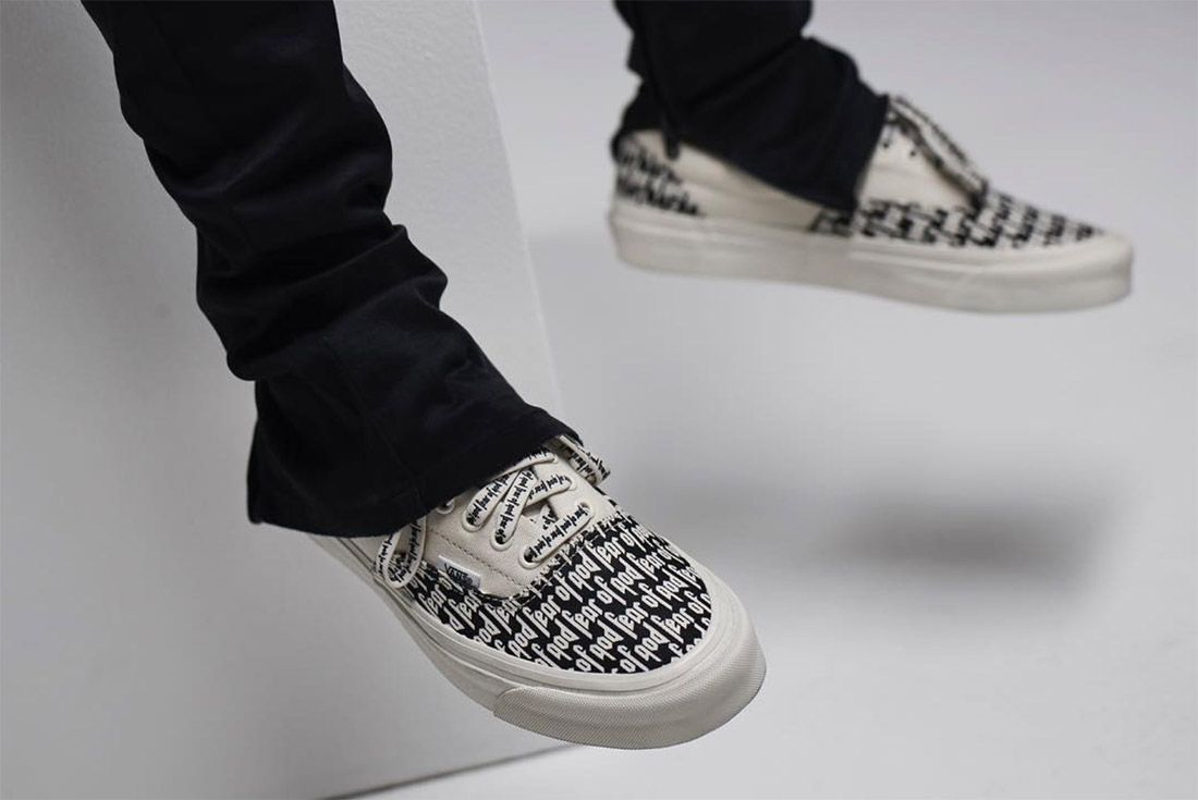 Fear Of God X Vans 2017 7