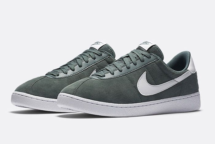 Nike Bruin Suede Green 1