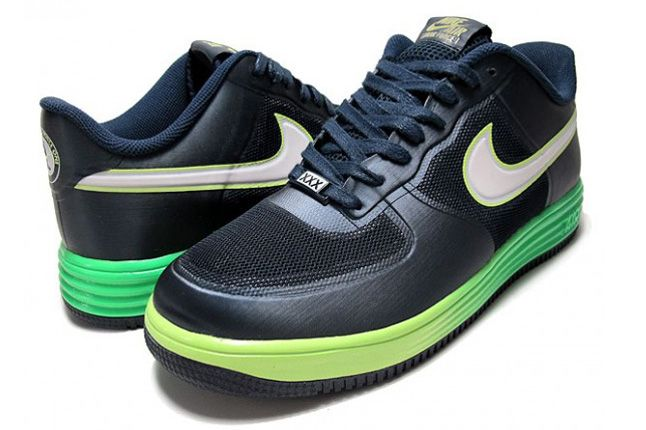 Lunar Force 1 Fuse Volt Dark Obsidian Pair 1