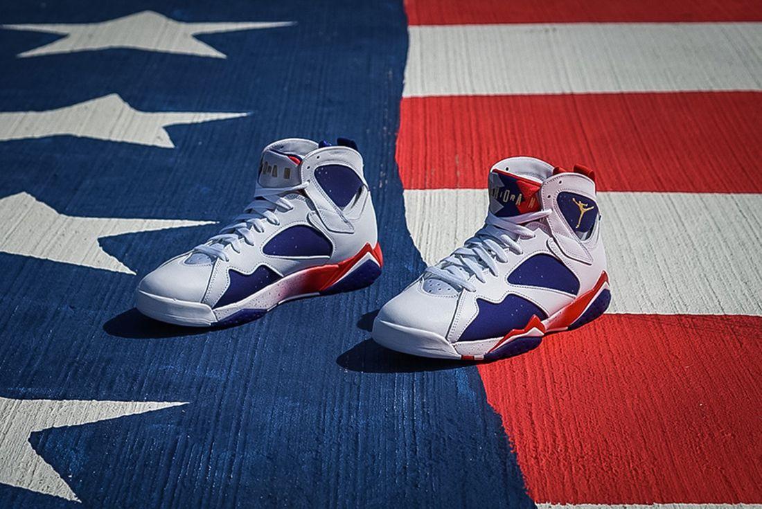 Air Jordan 7 Olympic Alternate6