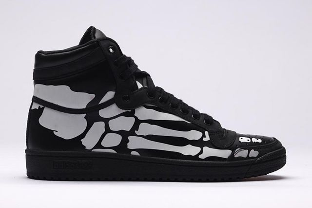 Adidas Top Ten Hi Core Black White1