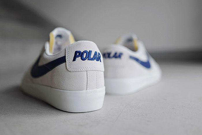 Nike Sb Polar Skate Co Blazer Low Heels