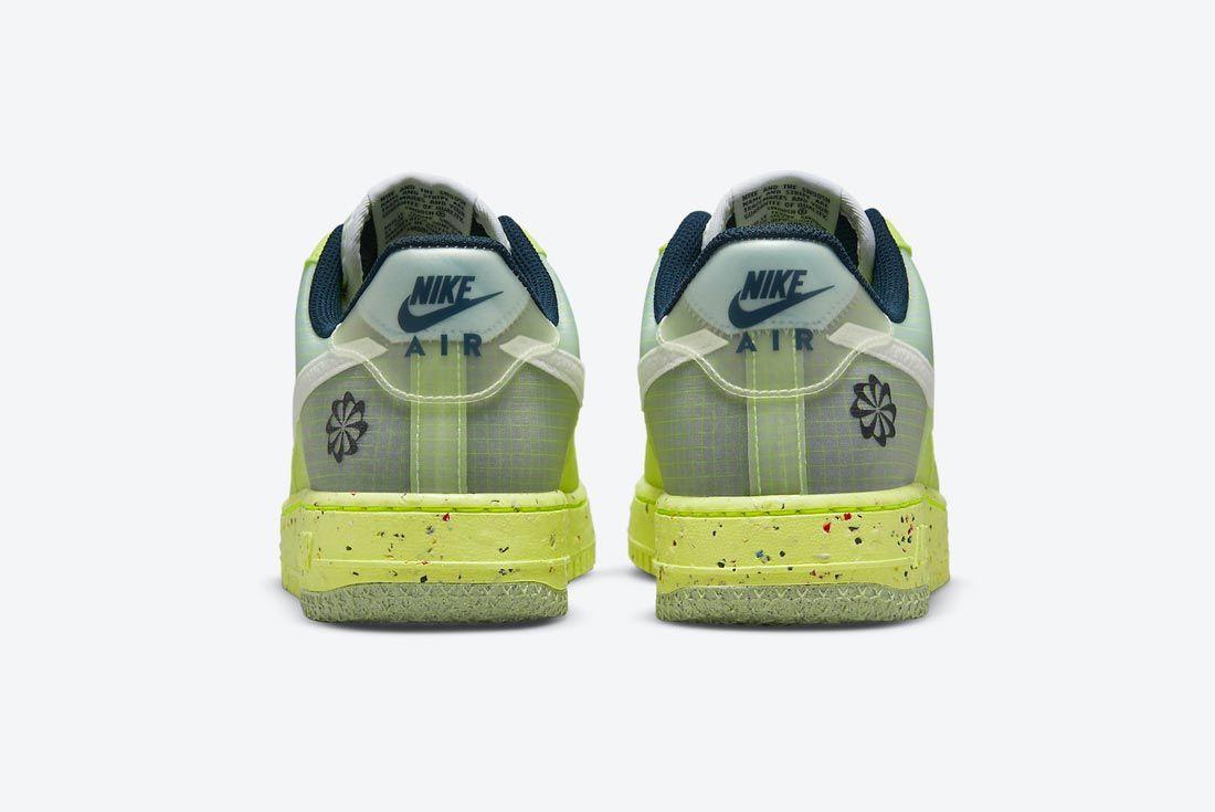 Nike Air Force 1 Crater 'Light Lemon Twist'