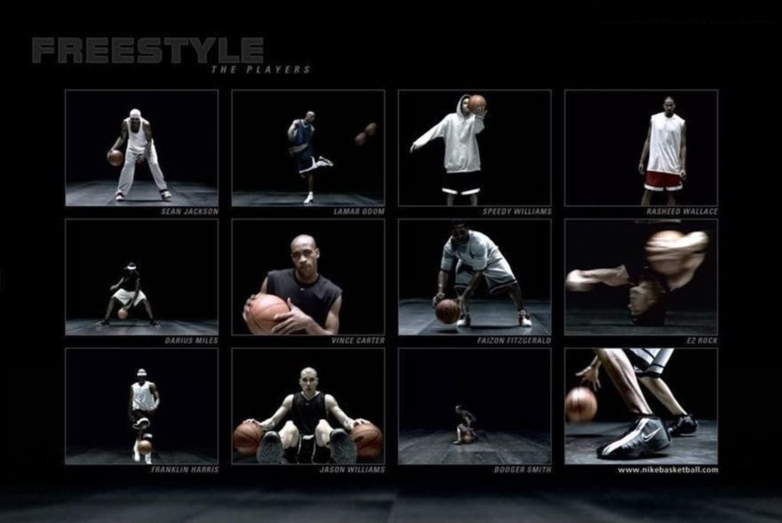 Nike Freestyle 2001 Basketball Commercial Still