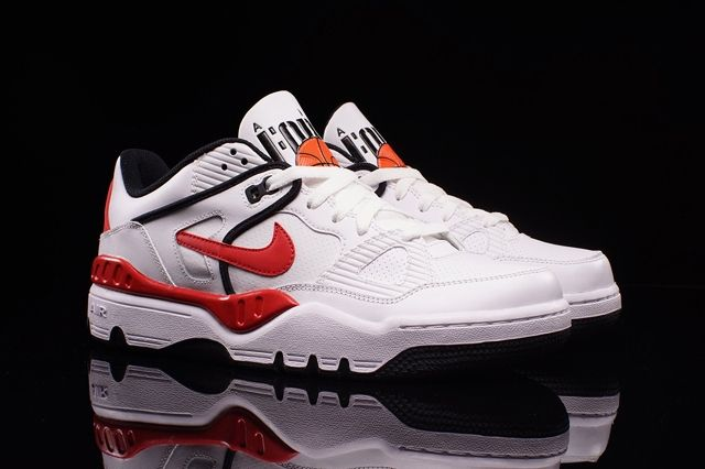 Nike Air Force 3 Low White Varred Bumper 3