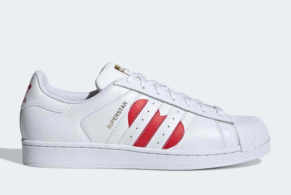 Valentines Day Adidas Superstar 4