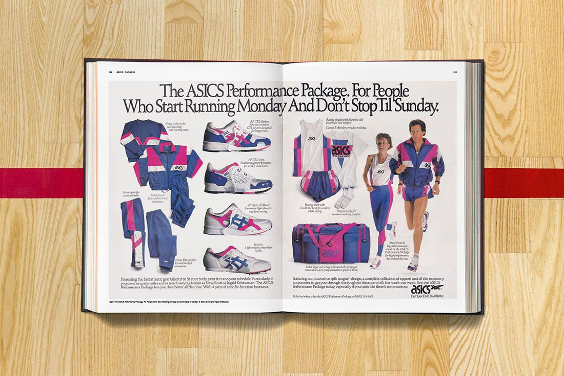 Sneaker Freaker Soled Out Book Spread ASICS