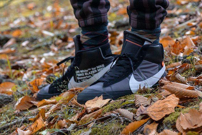 Off White Blazer On Foot 5