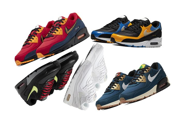 The Nike Air Max 90 'City Pack' Pays Tribute to Global Grinders ...