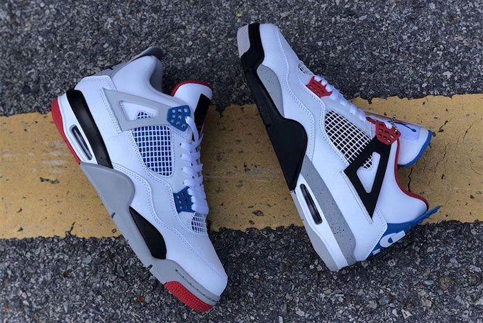 Air Jordan 4 What The Top