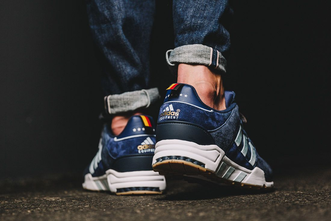 Adidas Eqt Support 93 Berline Marathon Collegiate Navy Dark Burgundy 2