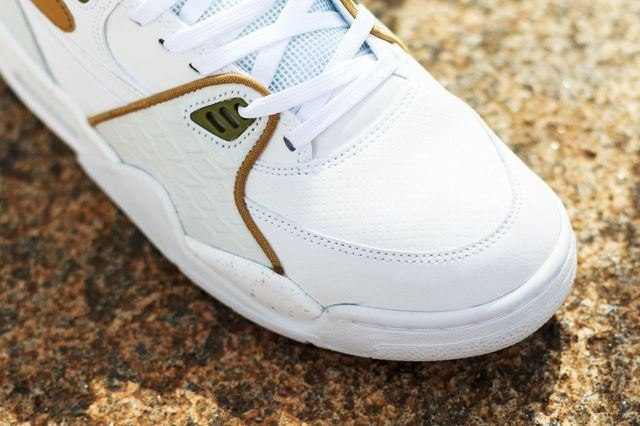 Nike Air Flight 89 White Flat Gold Pure Platinum 4