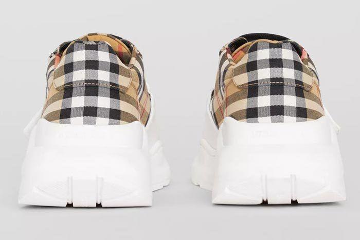 Burbery Vintage Check Sneaker 4