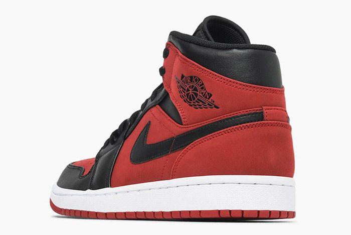 Jordan Air Jordan 1 Mid 554724 610 Gym Red Black White 1