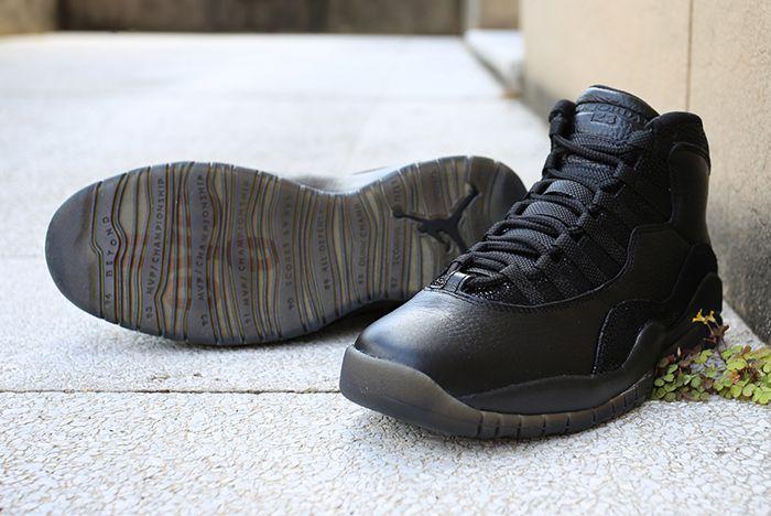 Drake X Air Jordan 10 Ovo Black Stingray7