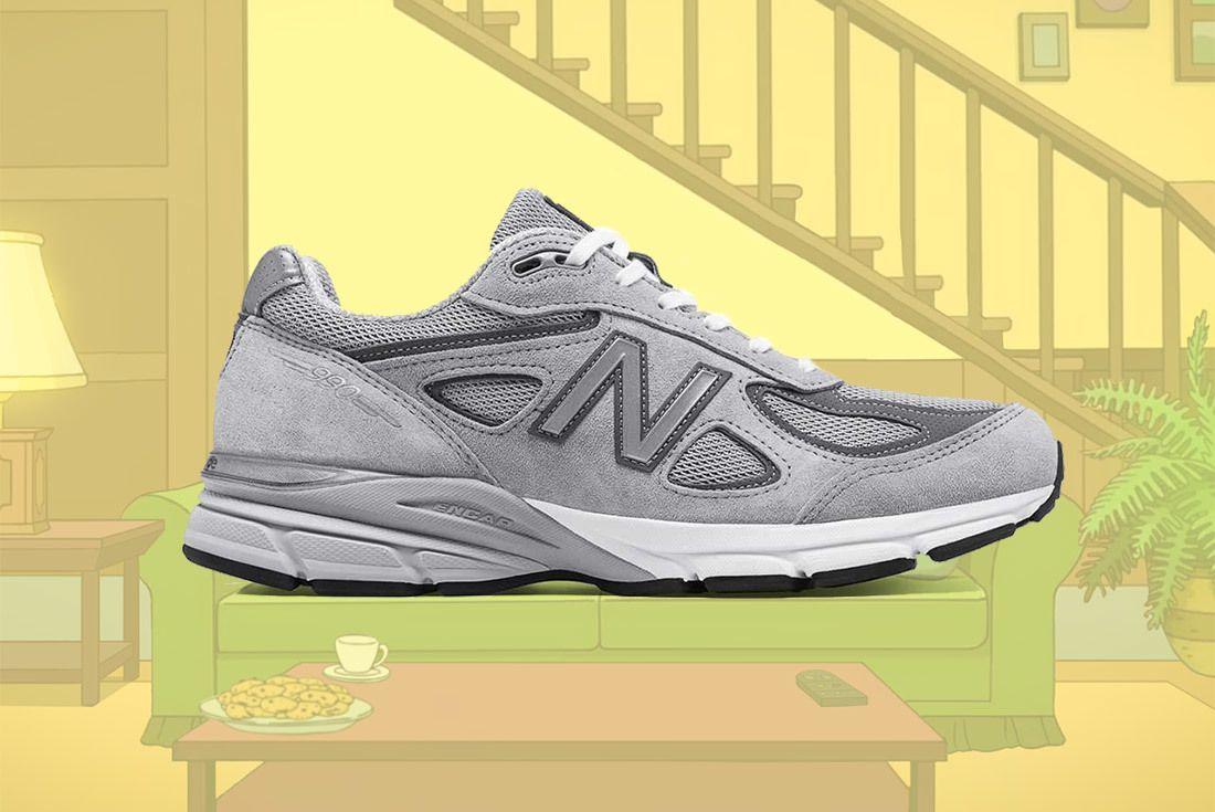 Material Matters Dad Shoes New Balancxe 990 V4 1