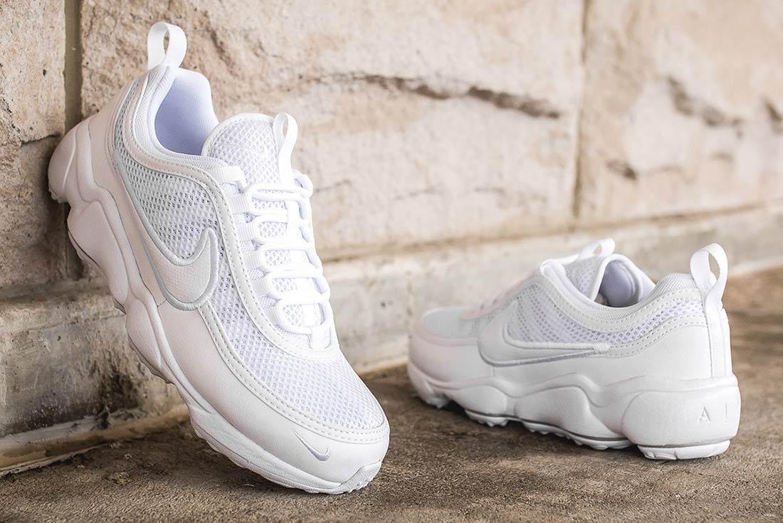 Nike Air Zoom Spiridon Ultra Triple White 10