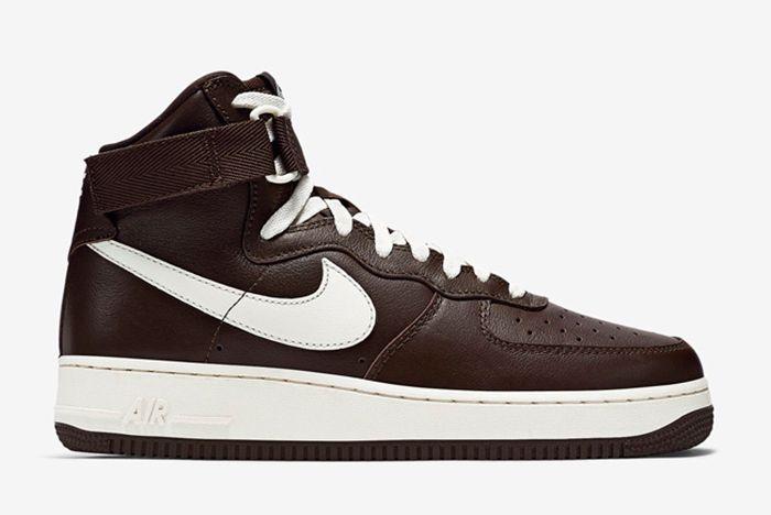 Nike Air Force 1 High Chocolate6