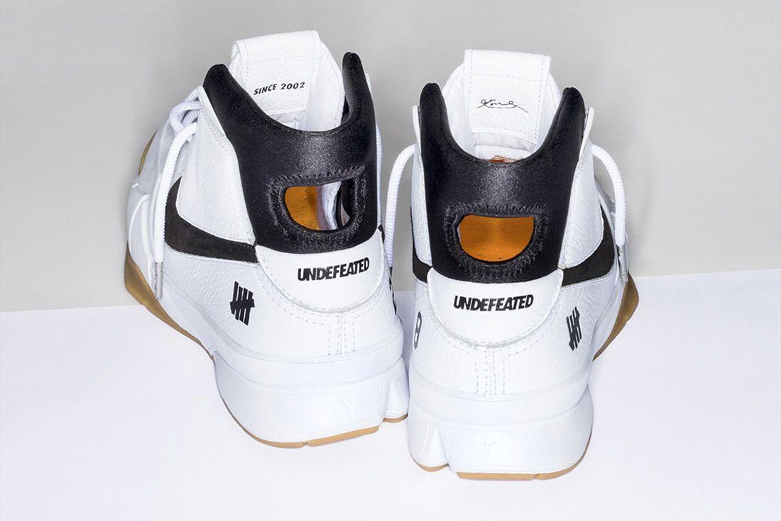 Nike Undefeated Zoom Kobe 1 Proto White 2