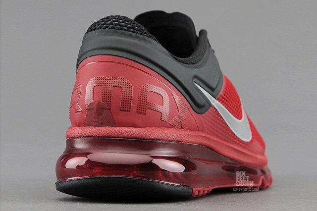 Nike Am2013 Gym Red Heel Quarter