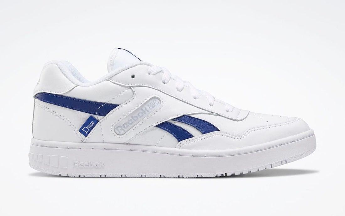 Dime and Reebok Collaborative BB4000 on white