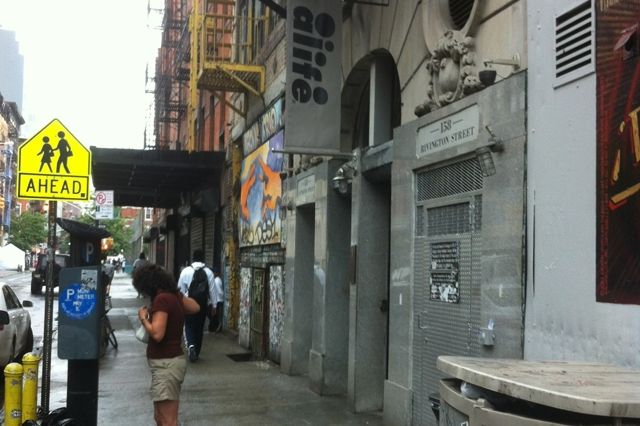 Alife Rivington Club New York City Entrance