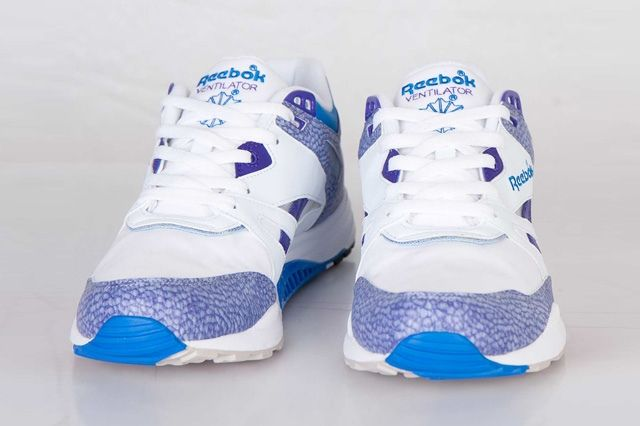 Reebok Ventilator White Purple Blue 4