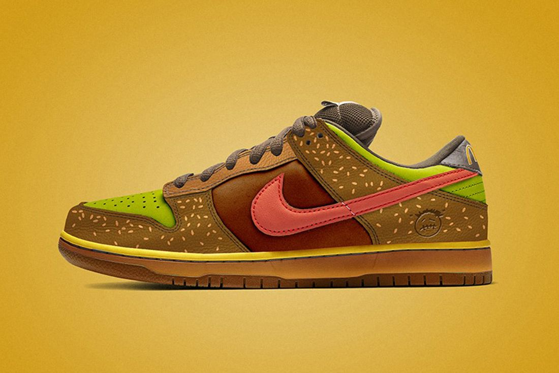 travis scott mcdonalds nike sb dunk concept
