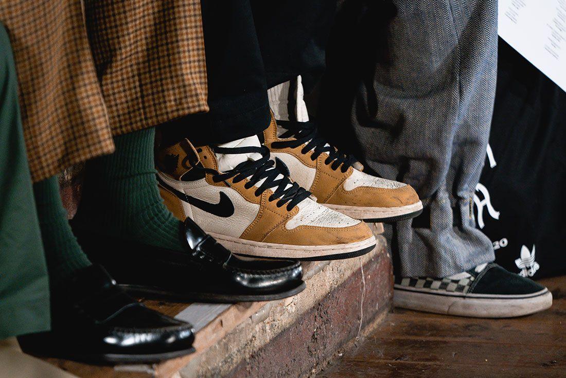 London Fashion Week Mens On Foot Sneaker Freaker Pics1