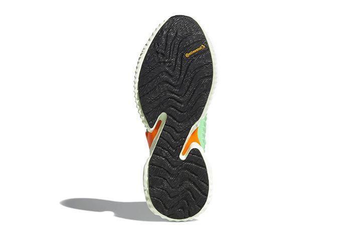 Adidas Alphabounce Instinct Grey Shock Lime Release Date 004 Sneaker Freaker