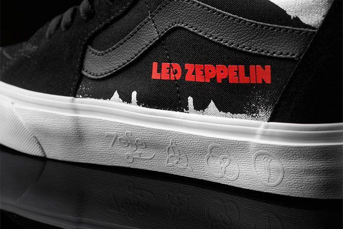 Led Zepplin Vans Sk8 Hi 4