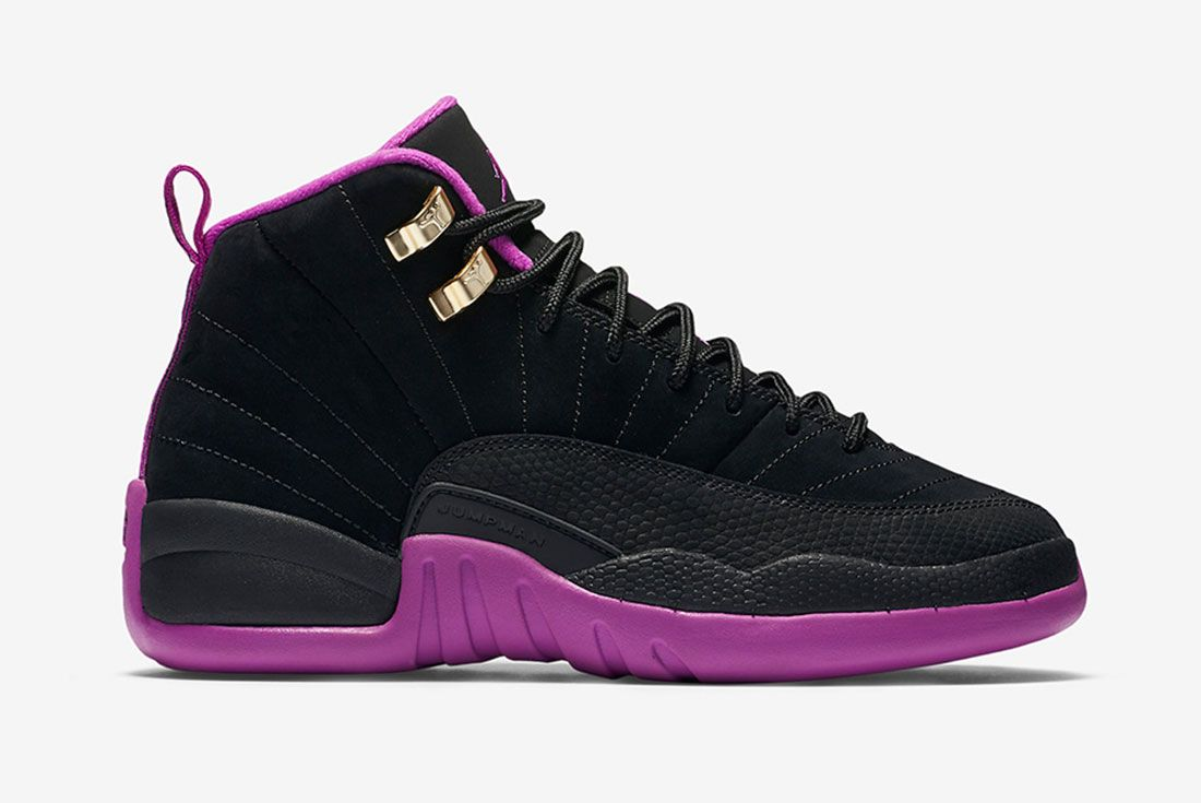 Air Jordan 12 Gs Violet 2