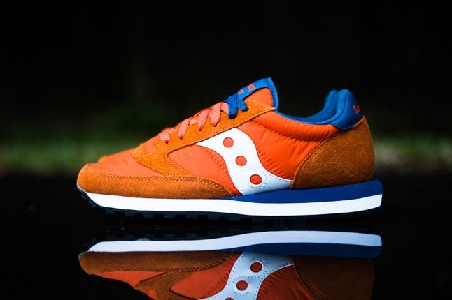Saucony Jazz Original Orange Blue Profile 1