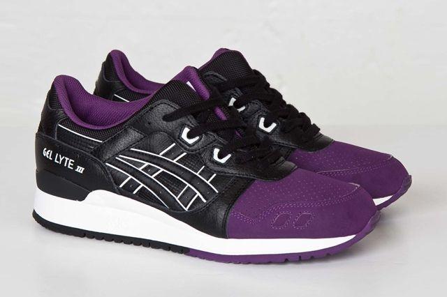 Asics Gl3 50 50 Purple Black Sns Bump 1