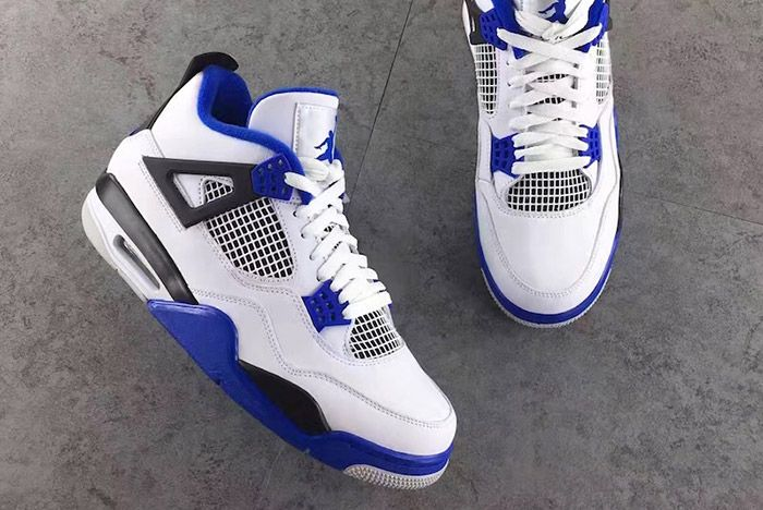 Air Jordan 4 Motorsport Blue 5
