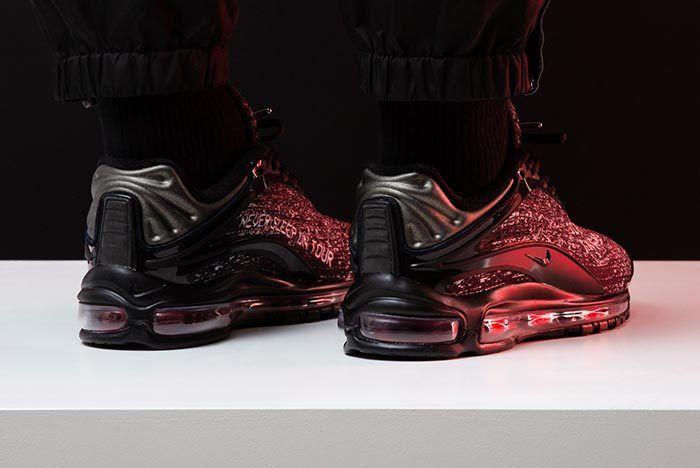 Skepta X Nike Air Max Delux On Foot 5