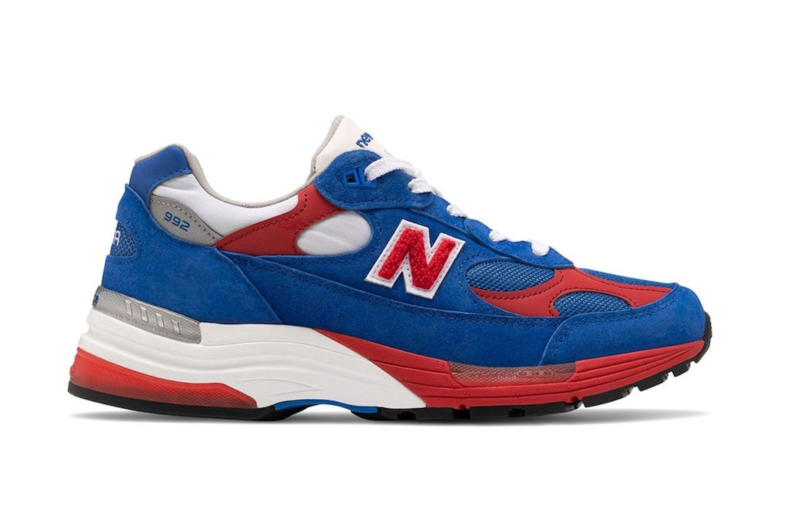 New Balance 992 Red White Blue Right