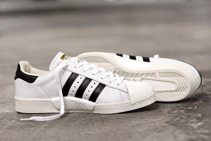 adidas Superstar BOOST (White/Black) - Sneaker Freaker