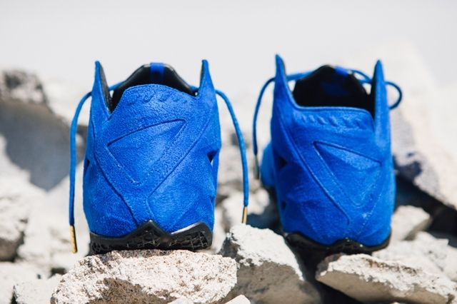 Nike Lebron 11 Ext Blue Suede 2