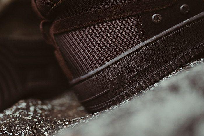 Nike Sf Air Force 1 Mid Brown 5