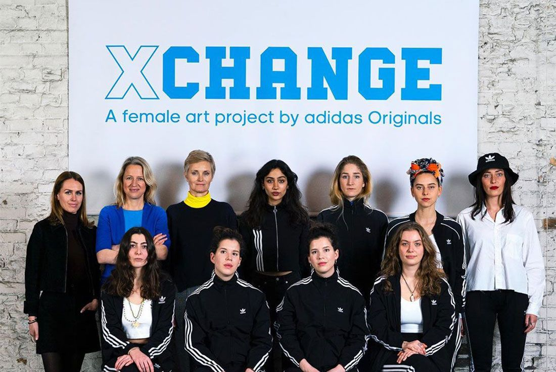 Adidas Xchange Female Germany Campaign