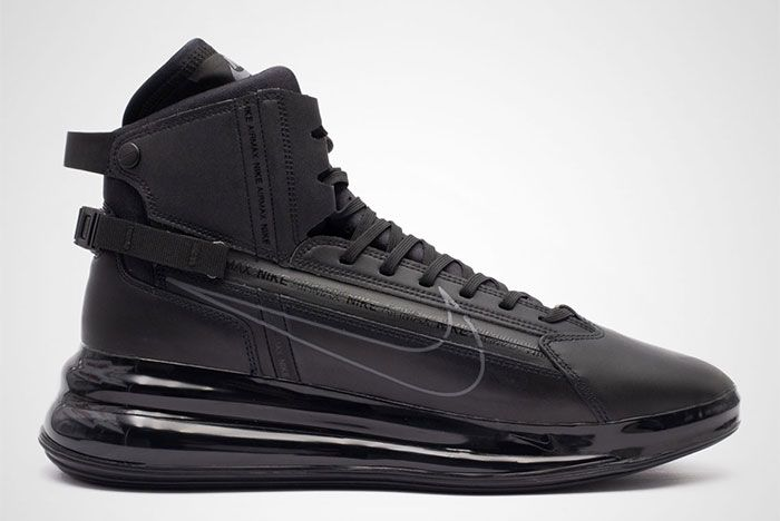 Nike Air Max 720 Saturn Black Side Shot 1