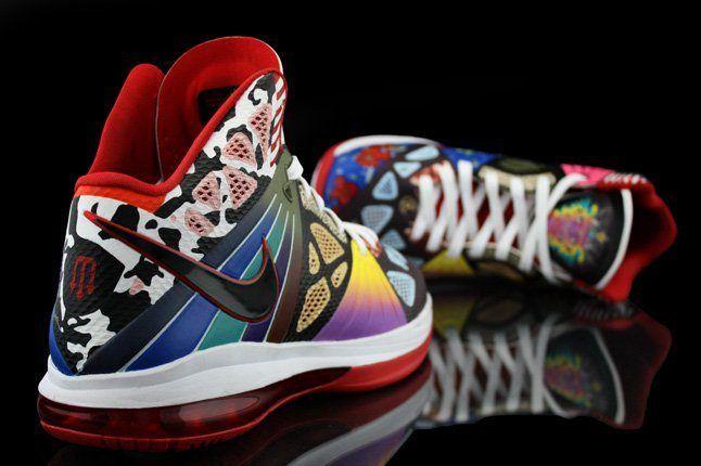 Revive Customs Nike Lebron8 Ps Rammellzee Heel Hero 1