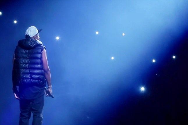 Jay Z Barclays Arena On Stars 1