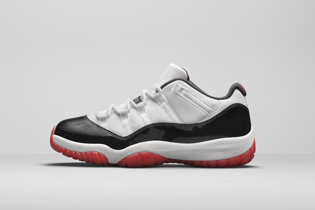 Jordan Brand Summer 2020 Air Jordan 11 Low Black Red Lateral