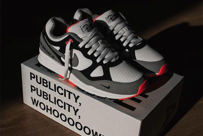 Patta Nike Air Span Ii Sneaker Freaker 1