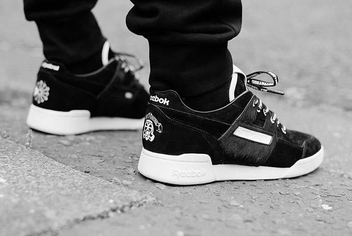Footpatrol X Reebok Workout Lo Plus Blackbuck 2